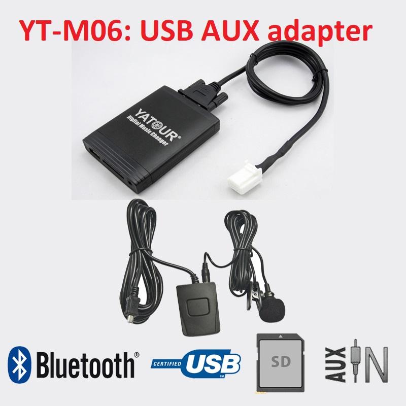 Yatour YT-M06 USB Mp3 адаптер